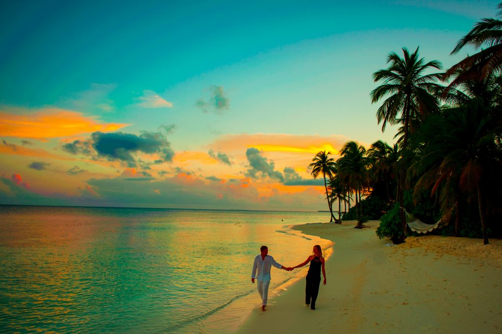 Photo of Couple on Beach